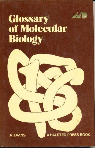 9780408706407: Glossary of Molecular Biology
