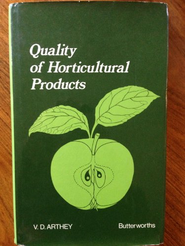 9780408706452: Quality of Horticultural Products