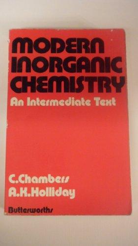 9780408706636: Modern Inorganic Chemistry