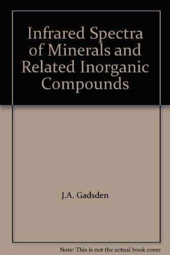 9780408706650: Infrared Spectra of Minerals and Related Inorganic Compounds