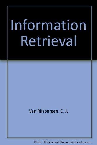 9780408707176: Information Retrieval