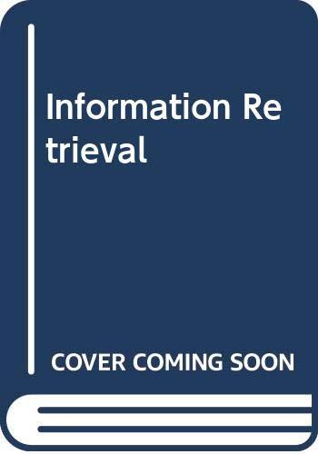 9780408709293: Information Retrieval