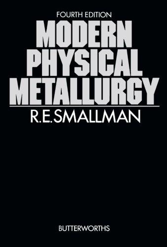 Modern Physical Metallurgy (Butterworths monographs in metals): R. E. Smallman