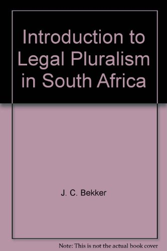 9780409021790: Introduction to Legal Pluralism in South Africa