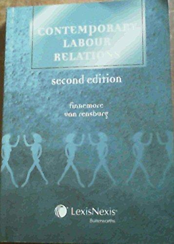 9780409028133: Contemporary Labour Relations