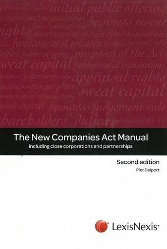 9780409048377: New companies act manual