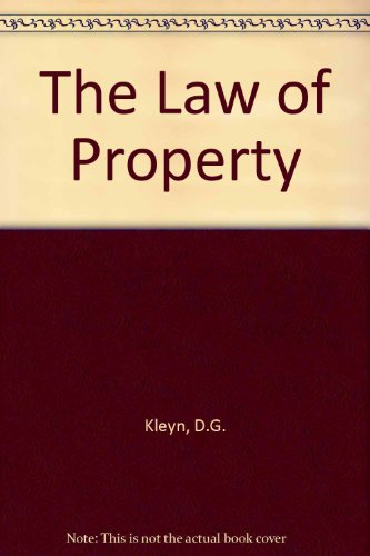 9780409053142: The Law of Property
