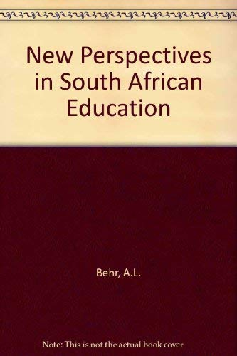 9780409095395: New Perspectives in South African Education