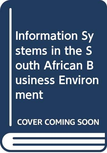9780409105445: Information Systems in the South African Business Environment