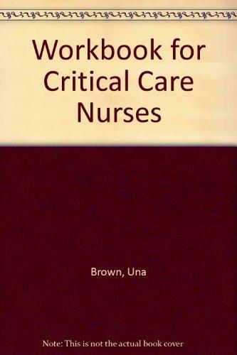 9780409113259: Workbook for Critical Care Nurses