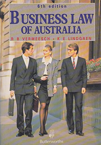 9780409301199: Business Law of Australia