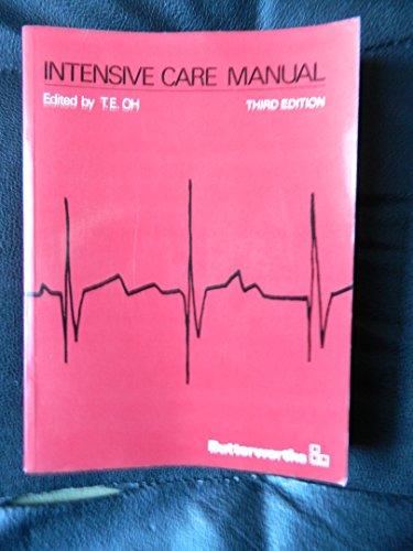 9780409301700: Intensive Care Manual
