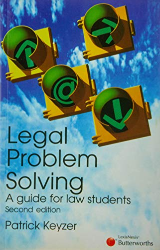 9780409312409: Legal Problem Solving; a Guide for Law Students