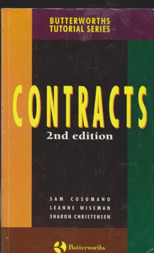 9780409315486: Contracts