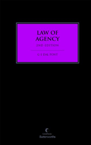 9780409324365: Law of Agency