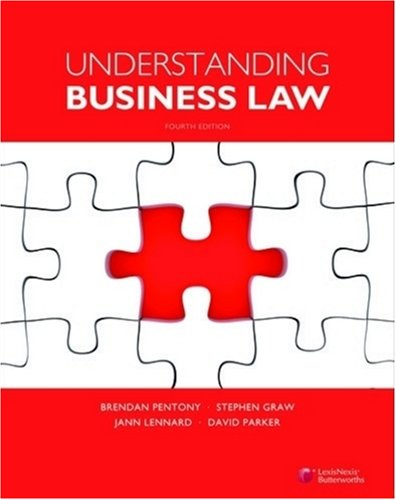 9780409324587: Understanding Business Law