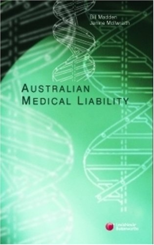 9780409324754: Australian Medical Liability