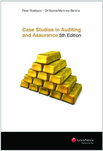 9780409326666: Case Studies in Auditing and Assurance - Fifth Edition