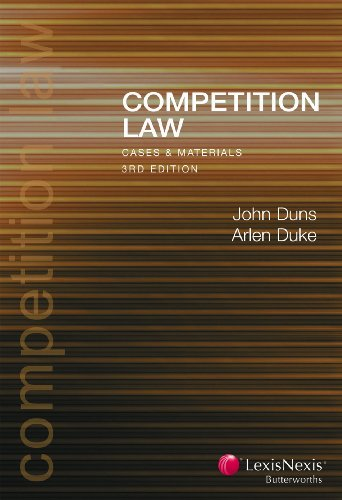 9780409327731: Competition Law Cases & Materials - 3rd edition