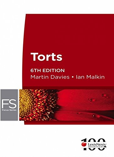 9780409327854: Focus: Torts - 6th Edition