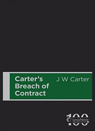Carter's Breach of Contract (Hardcover): John Carter