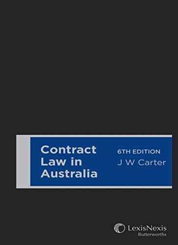 9780409330199: Contract Law in Australia