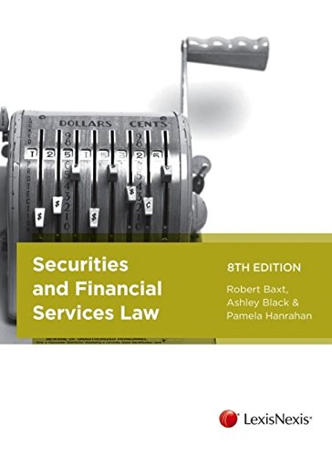 9780409330281: Securities and Financial Services Law