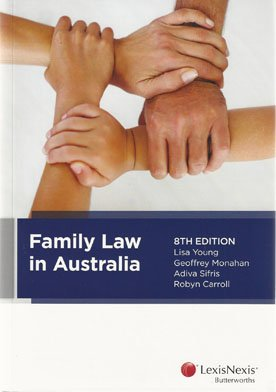 9780409331264: Family Law in Australia, 8th Edition