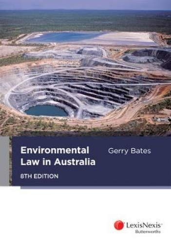 9780409332070: Environmental Law in Australia, 8th Edition