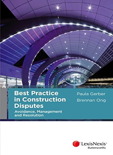 9780409333077: Best Practice in Construction Disputes