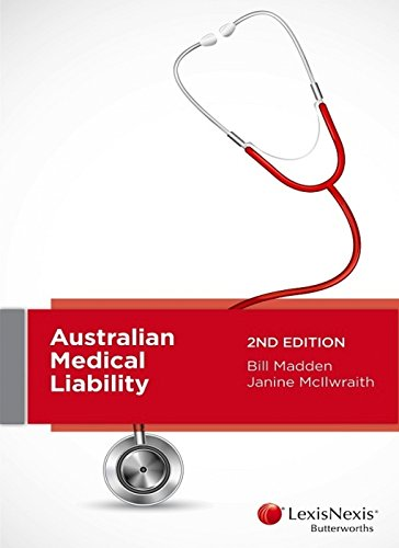 9780409333282: Australian Medical Liability, 2nd Edition