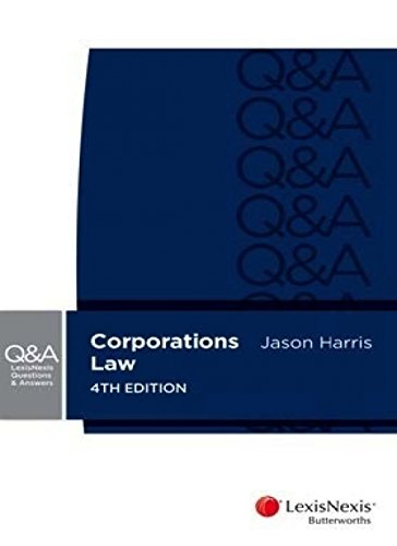 9780409334142: LNQA: Corporations Law, 4th Edition
