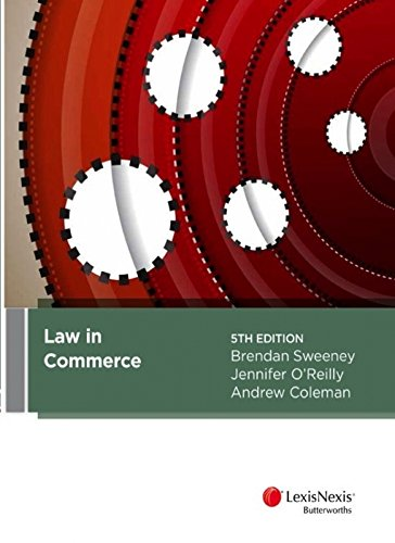 9780409334449: Law in Commerce, 5th Edition