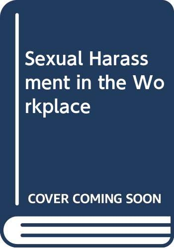9780409805352: Sexual Harassment in the Workplace