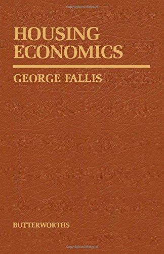 9780409829402: Housing Economics