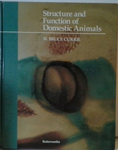 9780409900446: Structure and Function of Domestic Animals