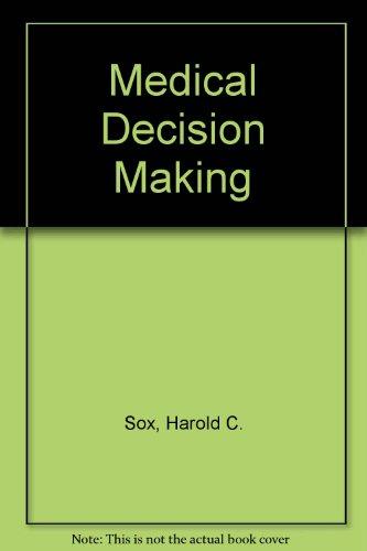 9780409900910: Medical Decision Making