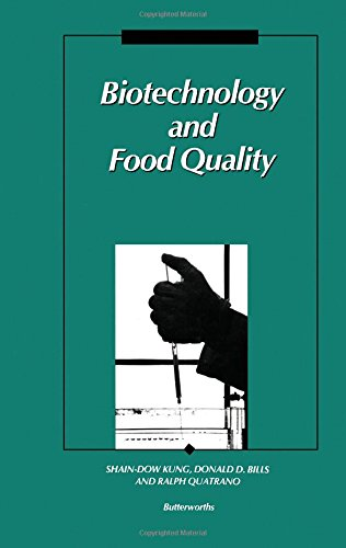 Biotechnology & Food Quality: KUNG, SHAIN-DOW, ED.