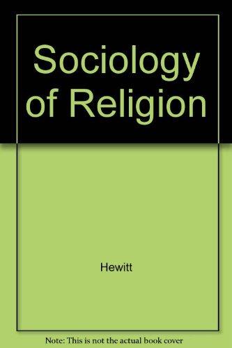 9780409907247: Sociology of Religion