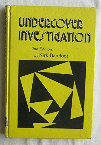 9780409950762: Undercover Investigation