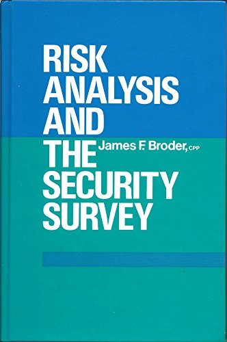 9780409950854: Risk Analysis and the Security Survey