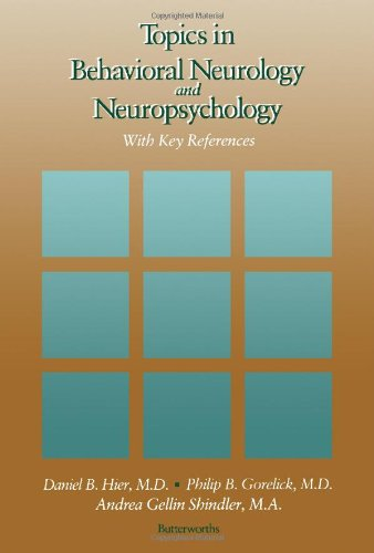 9780409951653: Topics in Behavioral Neurology and Neuropsychology: With Key References