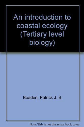 9780412010217: An introduction to coastal ecology (Tertiary level biology)