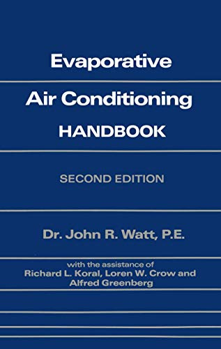 9780412011511: Evaporative Air Conditioning Handbook