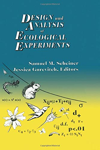 9780412035616: Design and Analysis of Ecological Experiments