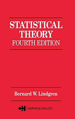 9780412041815: Statistical Theory, Fourth Edition (Chapman & Hall/CRC Texts in Statistical Science)