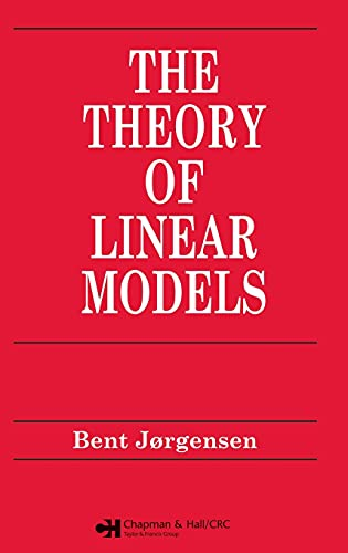 9780412042614: Theory of Linear Models (Chapman & Hall/CRC Texts in Statistical Science)