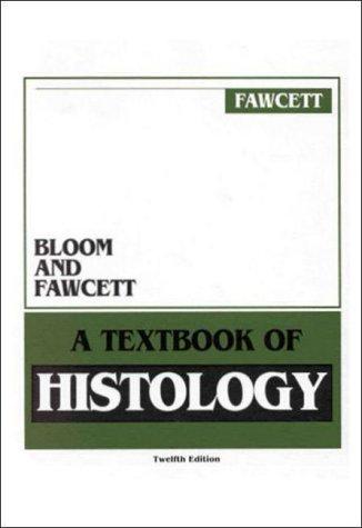 9780412046919: BLOOM & FAWCETT TEXTBOOK OF HISTOLOGY