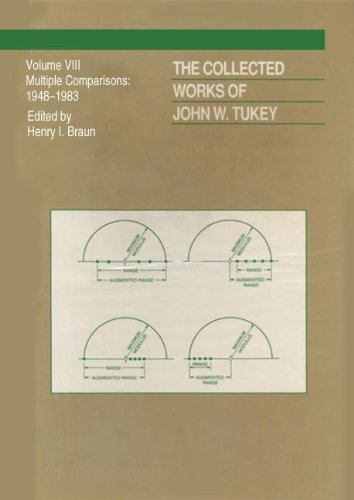 9780412051210: The Collected Works of John W. Tukey: Multiple Comparions, Volume VIII (V. 3-4: The Wadsworth & Brooks/Cole Statistics/Probability S)
