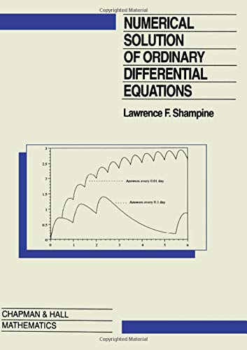 9780412051517: Numerical Solution of Ordinary Differential Equations